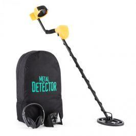 DURAMAXX Dr. Jones, detektor kovů, batoh pro přenos, displej, ochranný kryt na displej, sluchátka