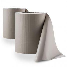 Blumfeldt PureView, světle šedá, ochrana před pozorováním, PVC, 2 role, 35m x 19cm, 60 upínacích kolejniček