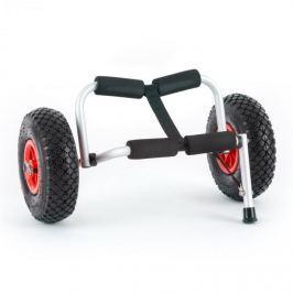 DURAMAXX Sea Mule SL, stříbrný, vozík na kajak, podpěra, hliník, eloxovaný, skládací