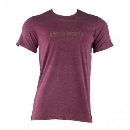 CAPITAL SPORTS tréninkové triko pro muže, kaštanová, velikost M