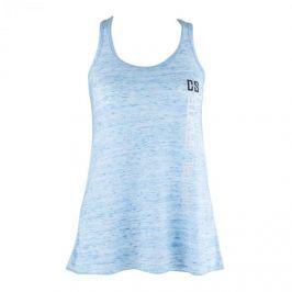 CAPITAL SPORTS dámské tréninkové tílko, modré mramorované, velikost L
