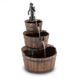 Blumfeldt Cascada 2G, dřevo, kaskádová fontána, zahradní fontána, 12 W, 800 l/h