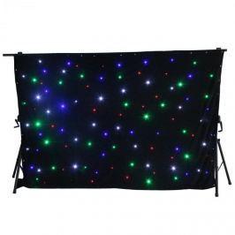 Beamz SparkleWall, LED závěs, 96 RGBW LED diod, 3x 2 m, včetně dálkového ovládání controlleru
