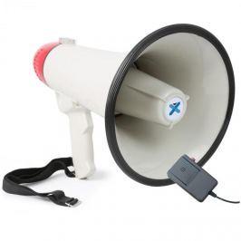 Vexus MEG040, megafon, 40 W, funkce nahrávání, siréna, mikrofon, provoz na baterie, popruh
