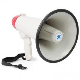 Vexus MEG045, megafon, 40 W, funkce nahrávání, siréna, USB, SD, AUX, provoz na baterie, popruh