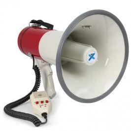 Vexus MEG050, megafon, 50 W, funkce nahrávání, siréna, mikrofon, provoz na baterie, popruh