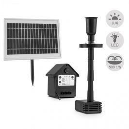 Blumfeldt Wasserwerk 500, vodní čerpadlo, solární, fontána, 500l/h, LED, akumulátor