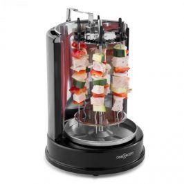Oneconcept Twist & Grill, vertikální gril, kebab gril, rožeň, 1400 W, ušlechtilá ocel