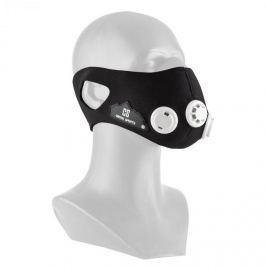CAPITAL SPORTS Breathor, černá, dýchací maska, výškový trénink, velikost L, 7 nástavců