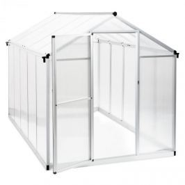 Blumfeldt Greencastle 5K skleník, 190 x 195 x 320 cm (Š x V x H), hliník, umělá hmota