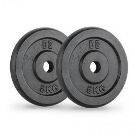 CAPITAL SPORTS IPB 5, černé, závaží na činky, pár, 30 mm, 5 kg