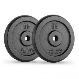 CAPITAL SPORTS IPB 10, černé, závaží na činky, pár, 30 mm, 10 kg