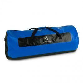 Yukatana Quinton 120, černá/modrá, lodní vak, sportovní taška, 120 litrů, nepromokavá