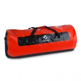 Yukatana Quinton 120, černá/červená, lodní vak, sportovní taška, 120 litrů, nepromokavá