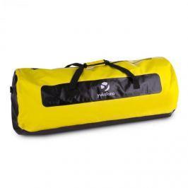 Yukatana Quinton 120, černá/žlutá, lodní vak, sportovní taška, 120 litrů, nepromokavá