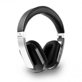 Auna Elegance ANC, bluetooth NFC sluchátka, akumulátor, handsfree, syntetická kůže, tlumení hluku
