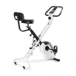 CAPITAL SPORTS Azura X2 X-Bike, kolo, do 120 kg, měřič tepu, sklápěcí, 4 kg, bílý