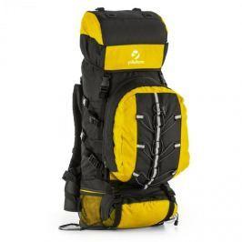 Yukatana Almer, žlutý/černý, trekingové batoh, 80 l, 40 x 80 x 35 cm, malý batoh