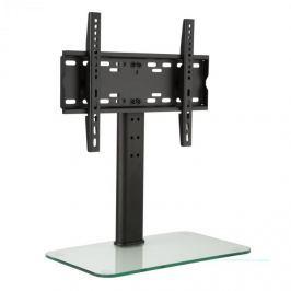 Auna TV stojan, velikost M, výška 56 cm, výškově nastavitelný, 23–47 palců, skleněný stojan