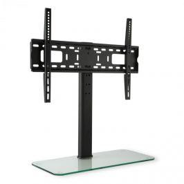 Auna TV stojan, velikost L, výška 76 cm, výškově nastavitelný, 23-55 palců, skleněný stojan