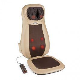 Klarfit Nukuoro, hnědá, masážní podložka na sezení, shiatsu masáž, 3 masážní zóny