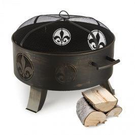 Blumfeldt Versailles, černá, nádoba na oheň, Ø 60 cm, ocel