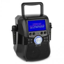 """Auna Stage Hero, karaoke systém, DVD, 7 """", TFT displej, 2 mikrofony, 25 W, RMS"""