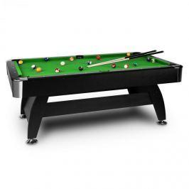 Oneconcept Brighton Black, zelený, 7 '(122 x 82 x 214 cm), kulečníkový stůl, příslušenství