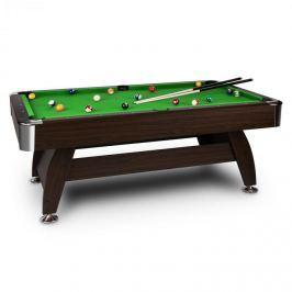 Oneconcept Leeds, zelený, 8 '(122 x 79 x 244 cm), kulečníkový stůl, tága