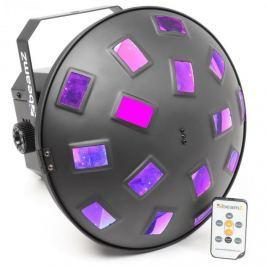 Beamz Mushroom II, 6 x 3 W RGBAWP LED dioda