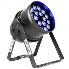 Beamz BPP205, LED PAR reflektor, 64 18 x 15 W 5 v 1 LED diod s RGBW-UV