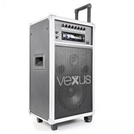 """Vexus ST110, mobilní PA systém, 20 cm (8 """"), CD, SD, USB, MP3"""