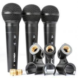 Vonyx VX1800S, sada dynamických mikrofonů