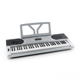SCHUBERT Etude 300 Keyboard 61 kláves, 300 zvuků, 300 rytmů, 50 demo písniček, stříbrný