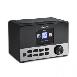 """Auna Connect 90 BK, internetové rádio, WLAN, AUX, 3,2 """"TFT barevný displej, linkový výstup, včetně dálkového ovládání"""