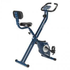 Klarfit Azura CF X-Bike, kolo na domácí trénink, do 100 kg, měřič tepu, sklápěcí, 3 kg, modrý