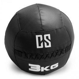 CAPITAL SPORTS Bravor Wall Ball medicinbal PVC 3kg černá, dvojité švy