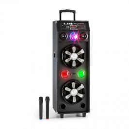 Auna DisGo Box 2100, 100 W RMS, mobilní DJ reproduktor s disko světlem, bluetooth