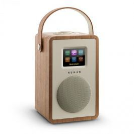 Numana Mini Two, ořech, designové internetové rádio, Wi-Fi, DLNA, bluetooth, DAB / DAB +, FM