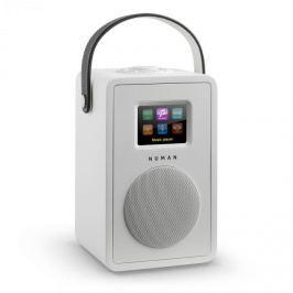 Numana Mini Two, bílé, designové internetové rádio, Wi-Fi, DLNA, bluetooth, DAB / DAB +, FM