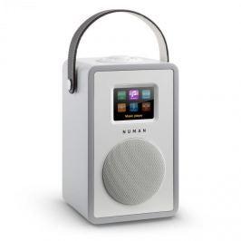 Numana Mini Two, šedé, designové internetové rádio, Wi-Fi, DLNA, bluetooth, DAB / DAB +, FM
