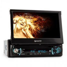 "Auna MVD 330, moniceiver, bluetooth, USB, SD, MP3, AUX, 18 cm (7 "") dotykový displej"