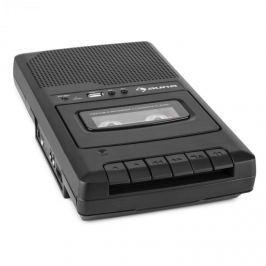 Auna RQ-132USB, přenosný kazetový rekordér, diktafon, mikrofon, micro USB