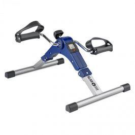 Klarfit Spinmin Pro Mini Bike, pedálový přístroj na cvičení, displej, sklápěcí, modrá barva