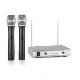 Auna VHF-2-H 2kanálová VHF mikrofonní sada 2x ruční mikrofon 50 m