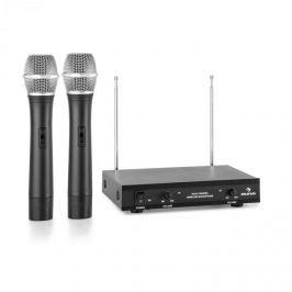 Auna VHF-2-H 2kanálová VHF mikrofonní sada 2x ruční mikrofon 100 m