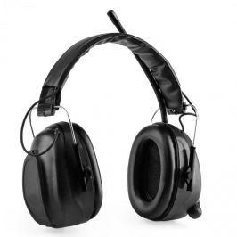 Auna Jackhammer BT, sluchátka na ochranu sluchu, FM rádio, 4.0 bluetooth, AUX-In, SNR 28 dB