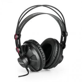 Auna HR-580 studiová sluchátka over-ear, sluchátka uzavřená, červená barva
