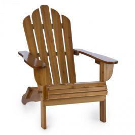 Blumfeldt Vermont, hnědé, zahradní křeslo, zahradní židle, adirondack, 73 x 88 x 94 cm, sklopitelné