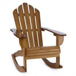 Blumfeldt Rushmore, hnědé, houpací křeslo, zahradní židle, adirondack, 71 x 95 x 105 cm, sklopitelné